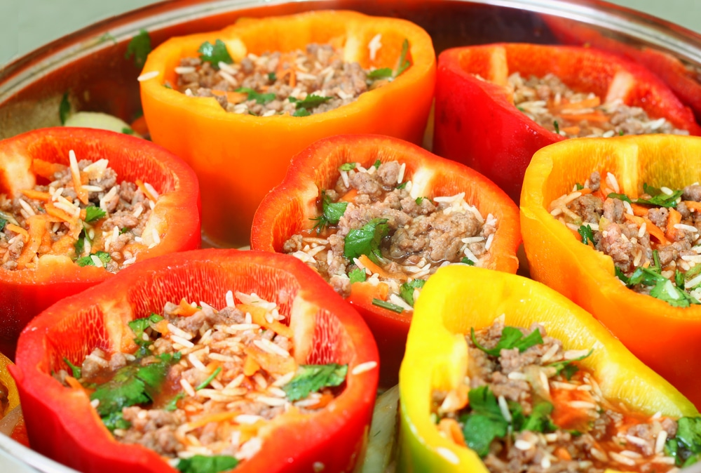 Favorite Stuffed Peppers Recipe