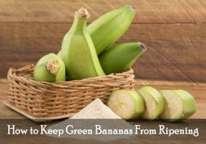 How to Keep Green Bananas From Ripening